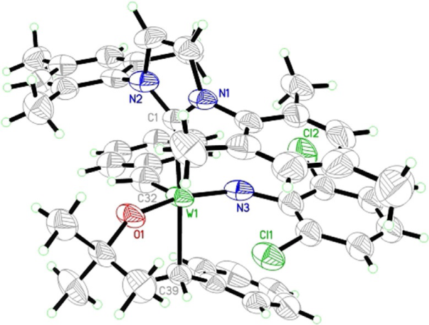 Reversible N‐ Heterocyclic Carbene‐Induced α‐H Abstraction in Tungsten(VI) Imido Dialkyl Dialkoxide Complexes